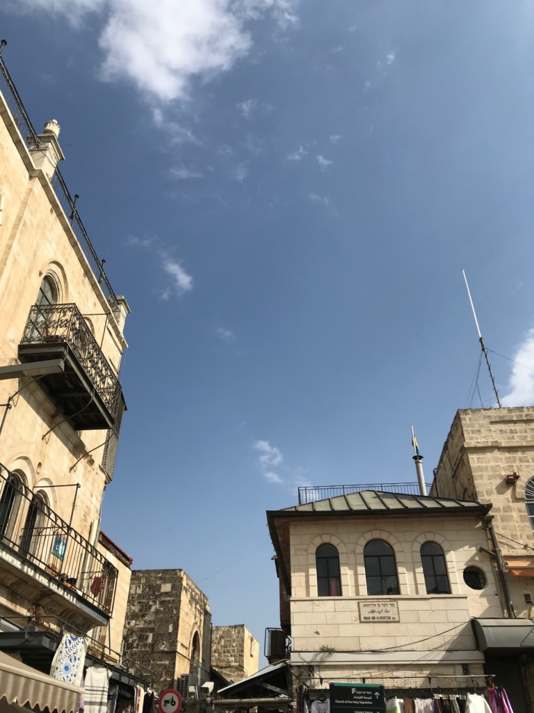 Vieille ville de Jérusalem : la ville est le laboratoire pilote du pays