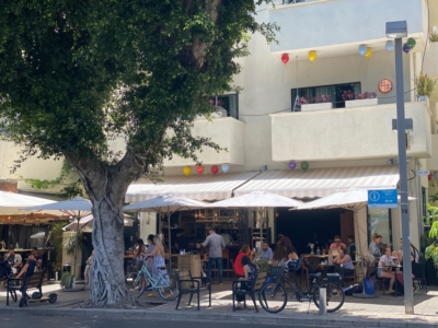 Les restaurants de Tel-Aviv sont de nouveau bondés (photo : KHC)