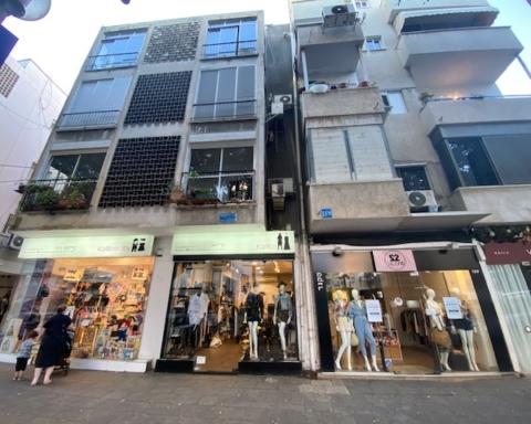 Magasins fermés sur Dizengoff à Tel-Aviv (photo : KHC)