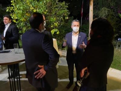 Le Conseiller fédéral Ignazio Cassis rencontre des entrepreneurs israéliens (photo: FDFA)