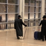 Arrivée à l'aéroport désert de Tel-Aviv (photo : KHC).