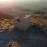 L'observatoire Landroom de Mitzpe Ramon (photo : GITAI ARCHITECTS).