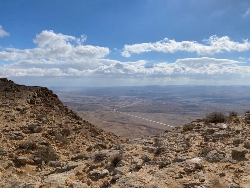 Le cratère Ramon dans le désert du Néguev est l'un des sites réputés du pays dont la visite sera proposée gratuitement aux visiteurs (photo : KHC)