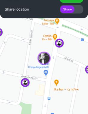 Grâce à l'application SafeUp les femmes bénéficieront d'une aide rapide si elles se sentent menacées en rentrant chez elles ou lorsqu'elles assistent à une fête (photo : capture d'écran)