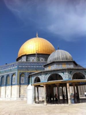 Le Mont du Temple à Jérusalem est le lieu où se rendent de nombreux pèlerins pendant le Ramadan (photo: KHC)