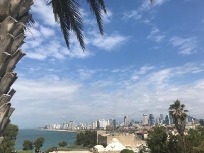 Vue de Tel-Aviv, l'un des centres économiques d'Israël (photo: KHC)